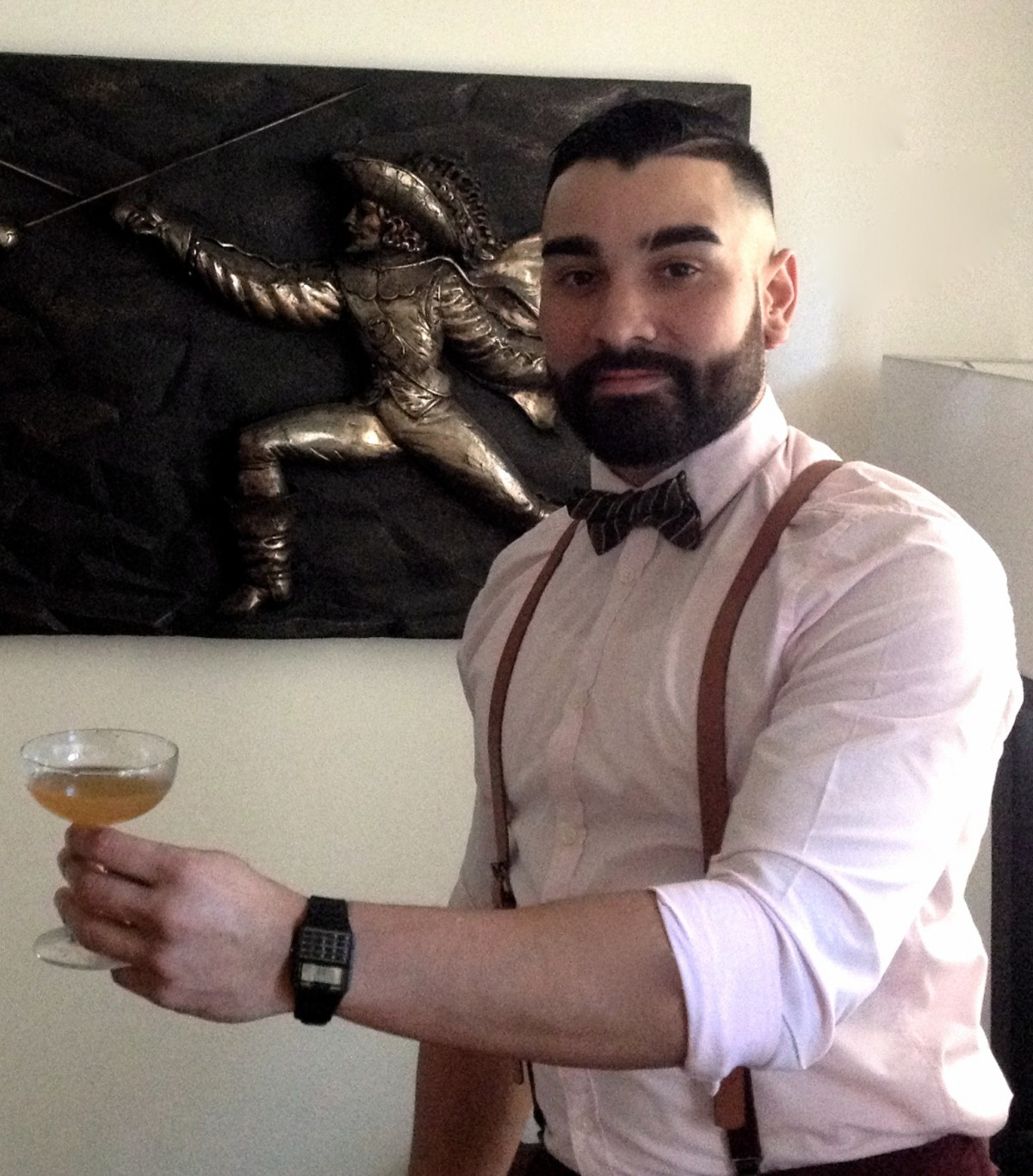 Behind the Bar – Bryan Canales