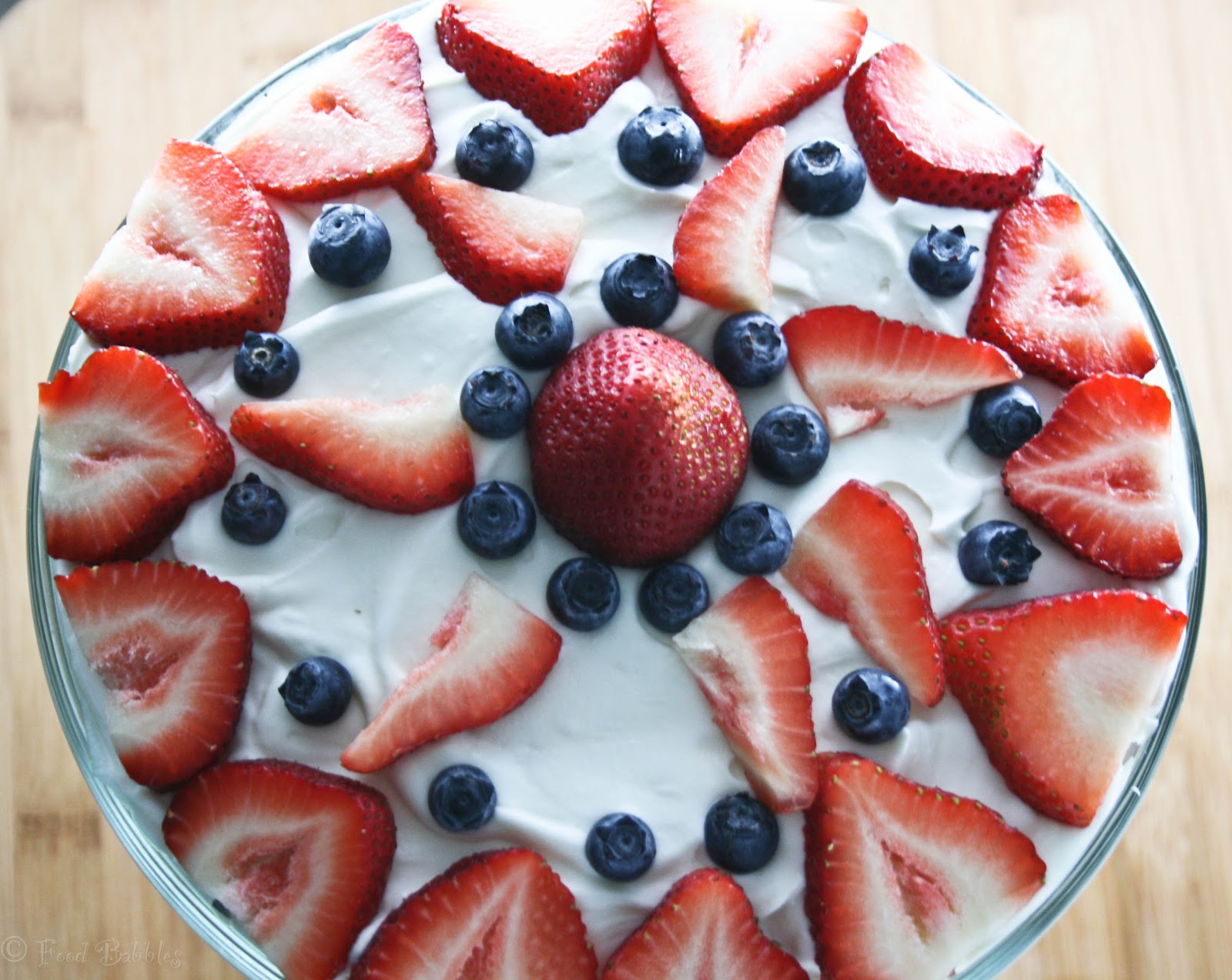 Red, White, And Blue Angel Food Cake Recipes — Dishmaps