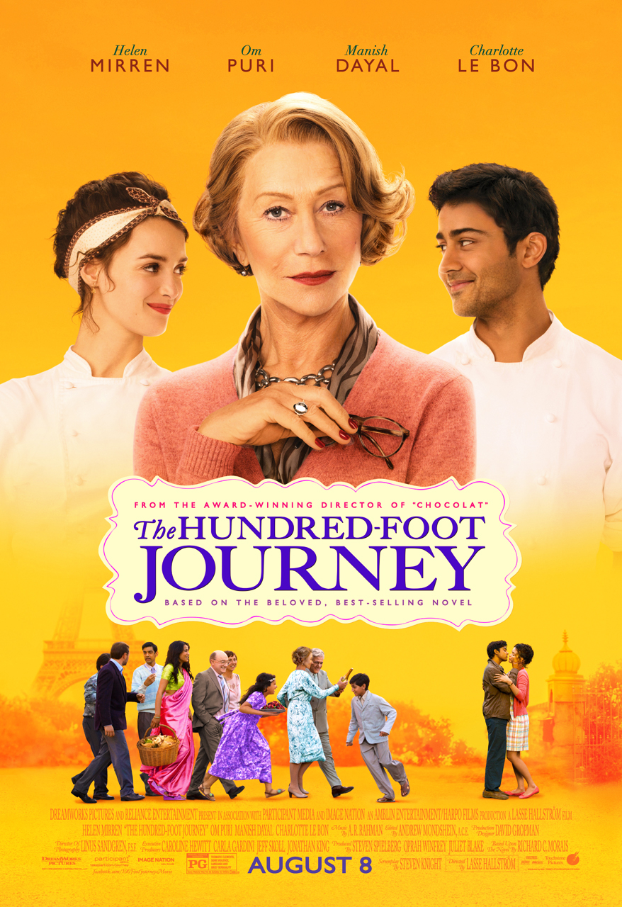 Foodie Movie Review: The Hundred-Foot Journey