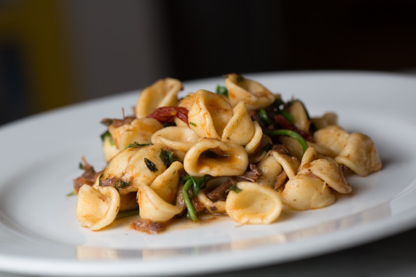orecchiette-with-oxtail-meat-tomatoes-arugula-and-parmigiano