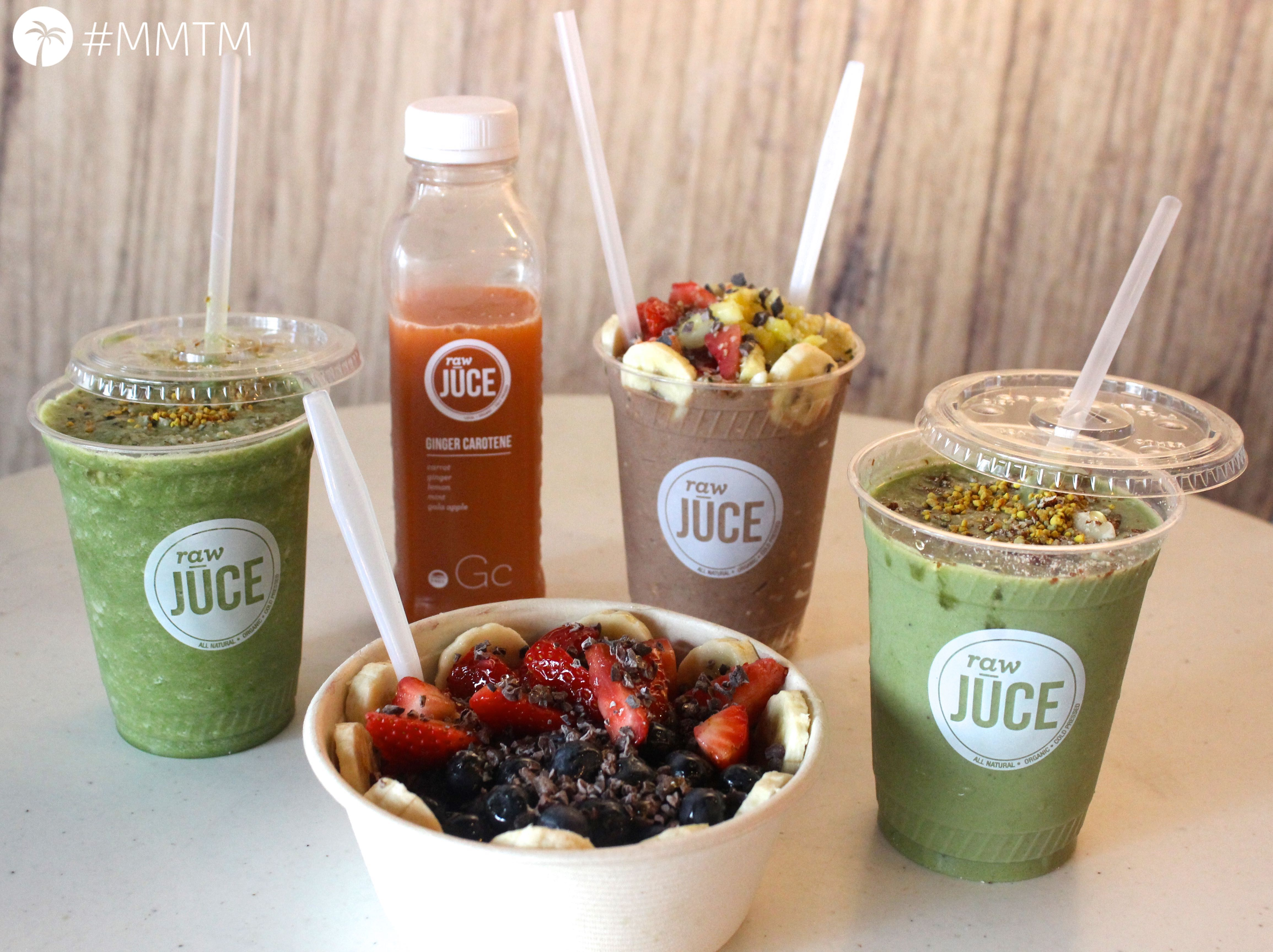 Raw Juce Quenches Miami